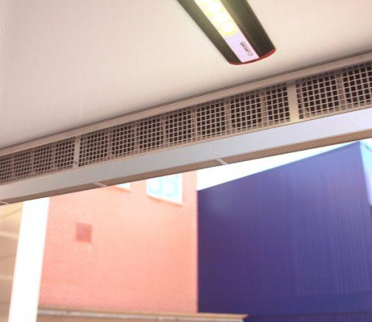BlueSeal luchtscherm bespaard energie bij koeltransporten