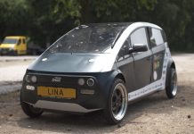 Studenten bouwen auto van vlas en suikerbieten