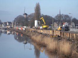 Innovatieve dijkversterking IJsseldijk Gouda